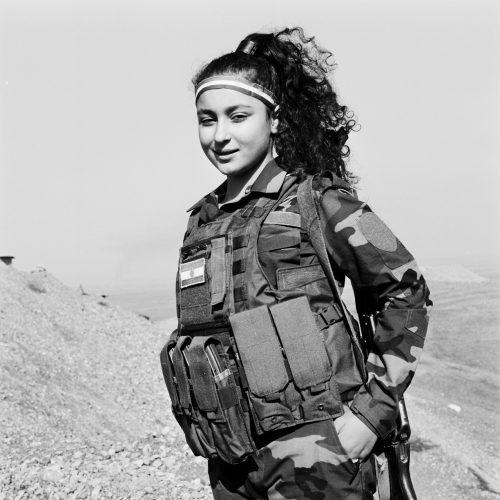Antizar, Teenage Peshmerga Soldier.