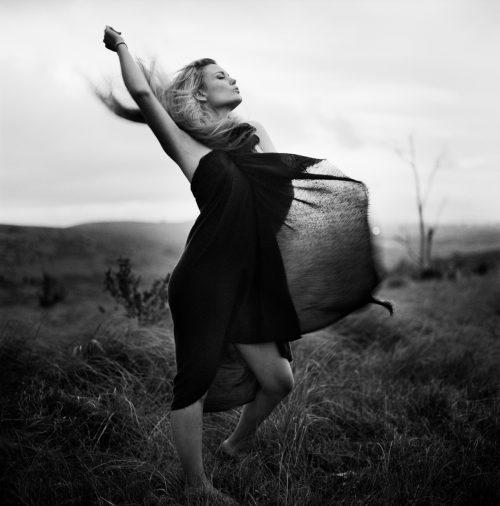 Dani in the wind, Grahamstown