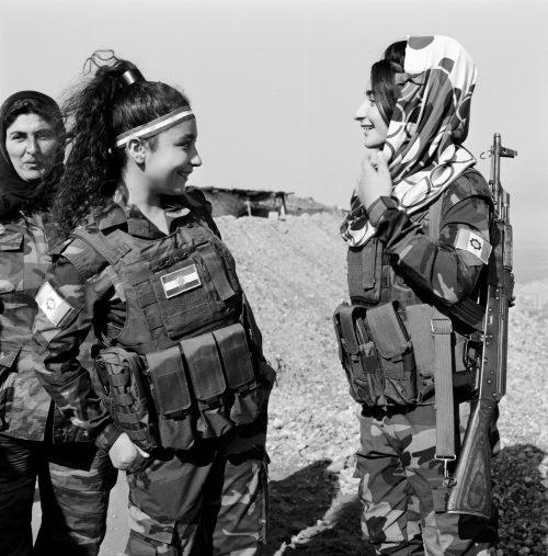 Ahou & her Daughters Sharing a Joke.