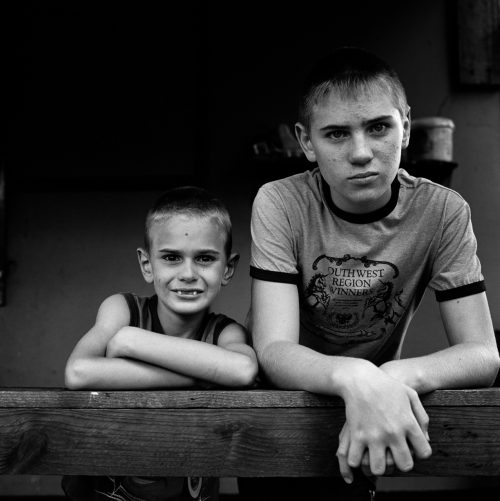 Brothers on Stoep, Coronation Park