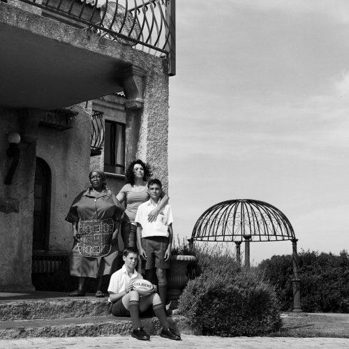 Karin & Family, Jeffreysbaai SA 2013