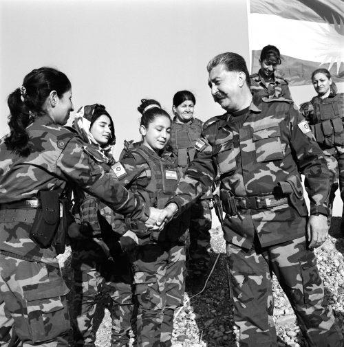 Hussein Yazdanpanah Handshakes