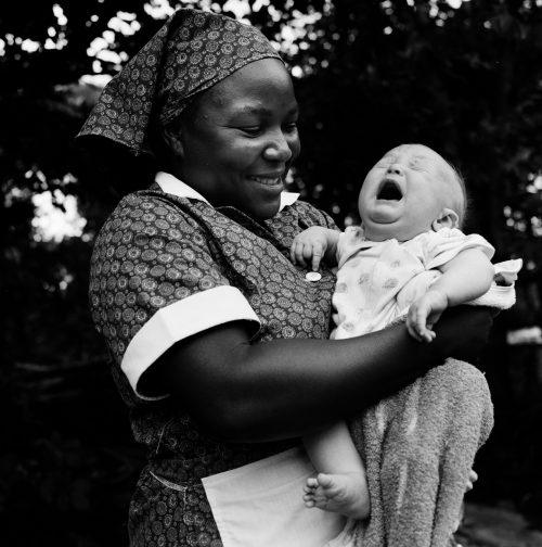 Maid with Baby, Mazowe, Zimbabwe