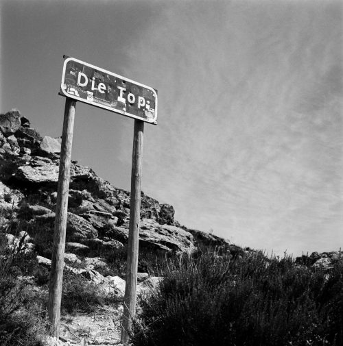 The Top of the Swartberg Pass